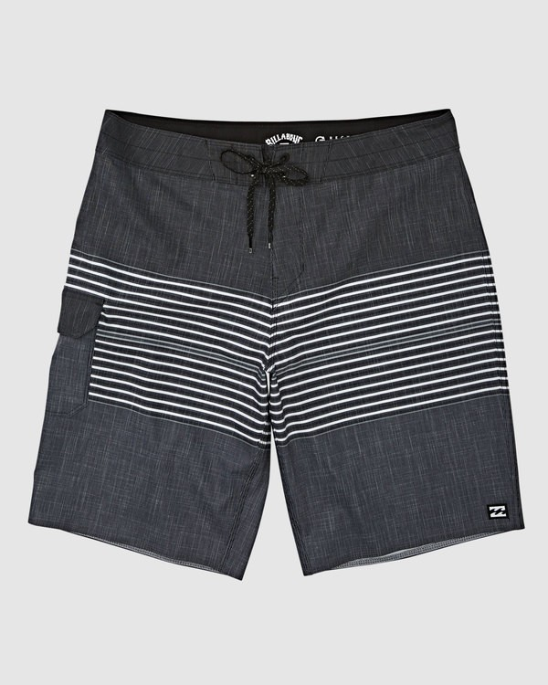 0 All Day Heather Stripe Pro Boardshorts Black 9517445 Billabong