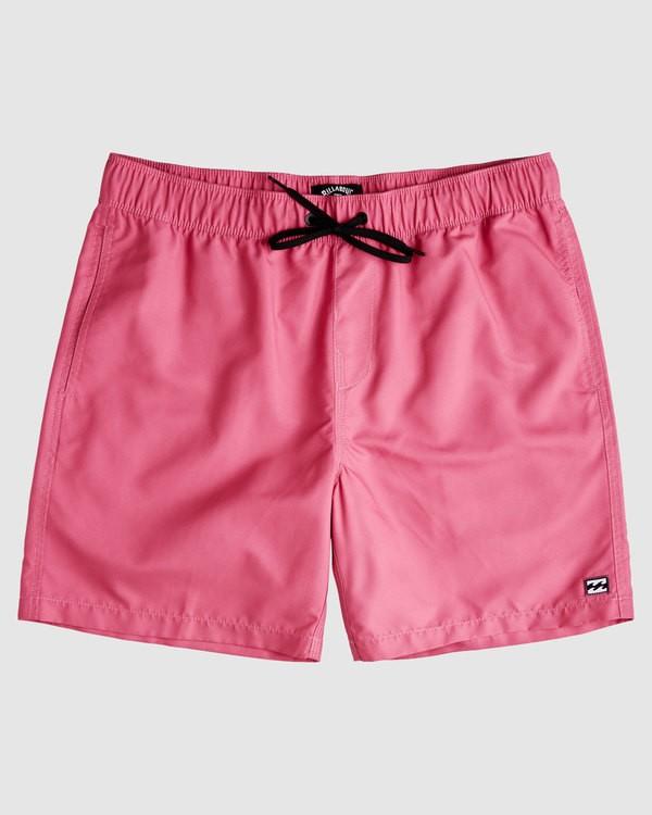 0 All Day Layback Boardshorts Pink 9517450 Billabong