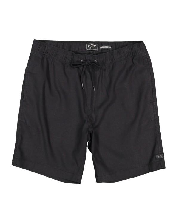 0 A/DIV Surftrek Hemp Shorts Black 9517704 Billabong