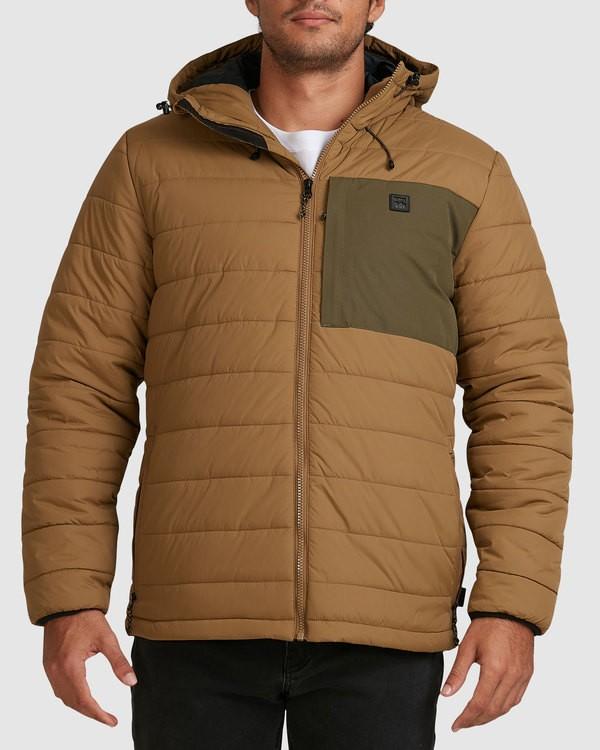 0 Journey Puffer Jacket Beige 9517909 Billabong