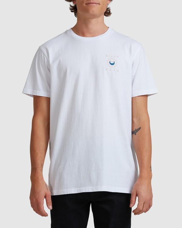 0 A/DIV Frontier T-Shirt White 9518027 Billabong