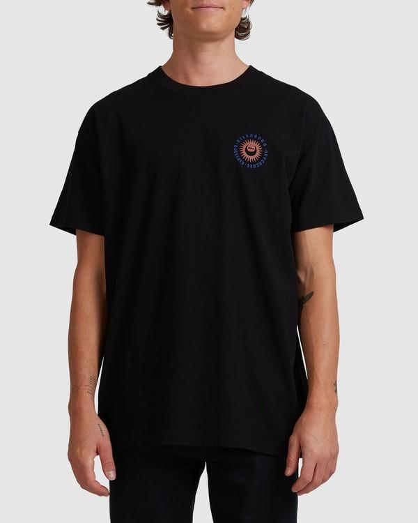 0 A/DIV Eclipse T-Shirt Black 9518028 Billabong