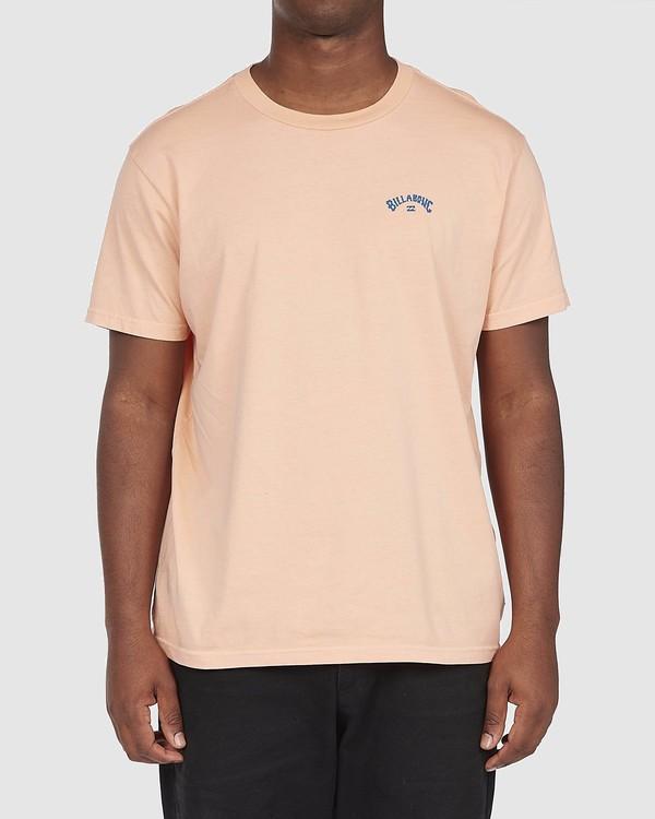 0 Arch Wave T-Shirt Orange 9518043 Billabong