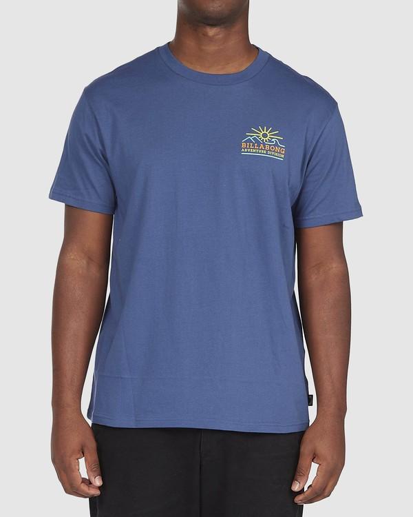 0 A/DIV Hills T-Shirt Blue 9518047 Billabong