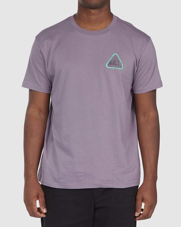 0 A/DIV Sawtooth T-Shirt Purple 9518048 Billabong