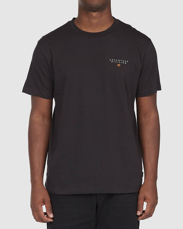 0 A/DIV Lines T-Shirt Black 9518050 Billabong