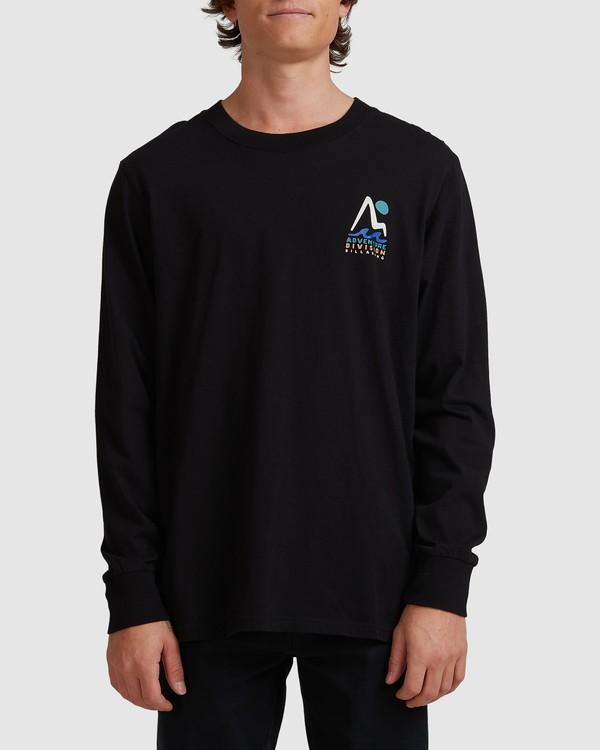 0 A/DIV Tour Division T-Shirt Black 9518148 Billabong