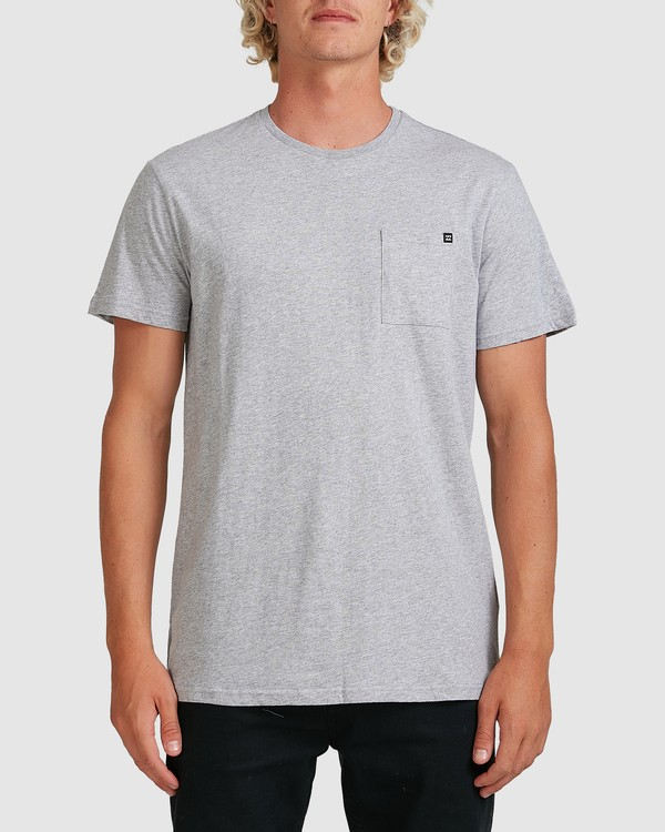 0 PREMIUM POCKET TEE Grey 9562046 Billabong