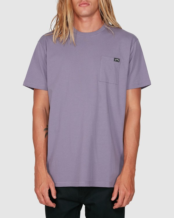 0 Premium Pocket T-Shirt Purple 9562046 Billabong