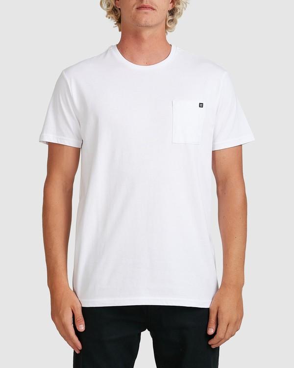 0 Premium Pocket Short Sleeve Tee White 9562046 Billabong