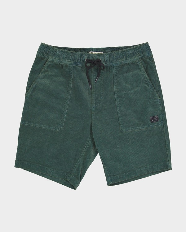0 LARRY CORD ELASTIC Green 9571732 Billabong