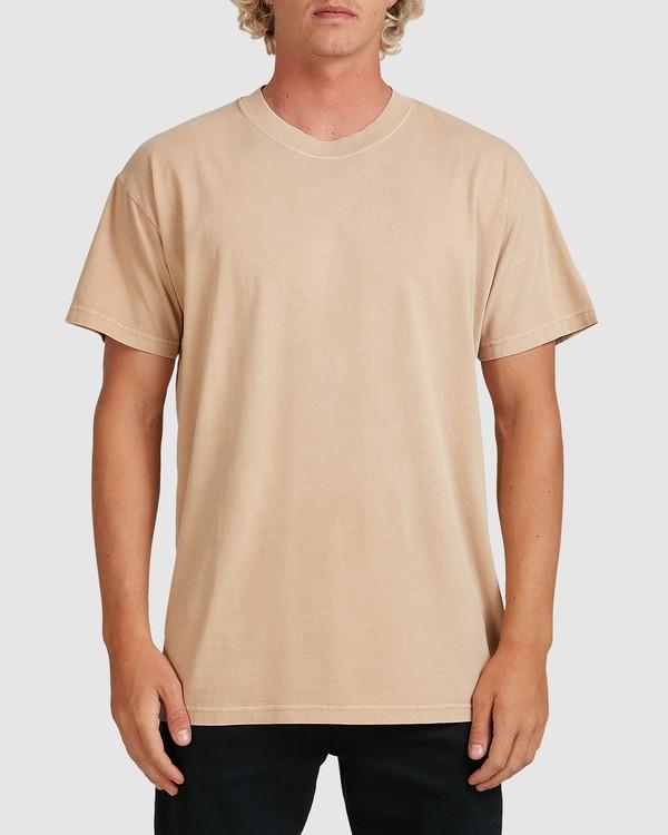 0 Premium Wave Wash Short Sleeve Tee Green 9572051 Billabong