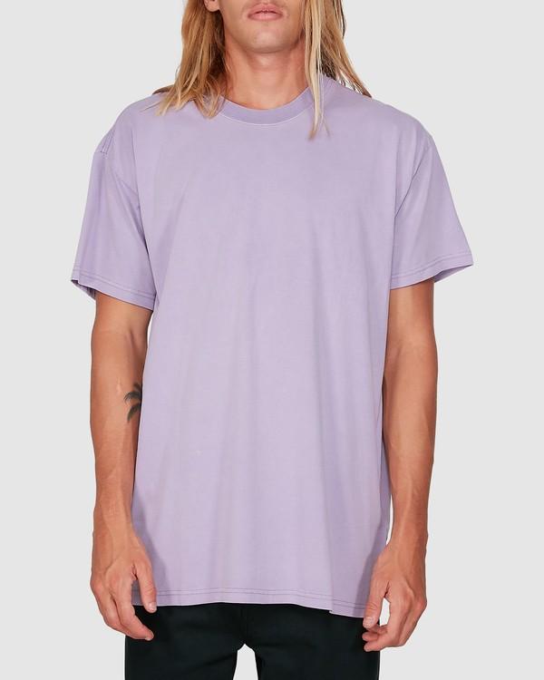 0 Premium Wave Wash Tee Purple 9572051 Billabong