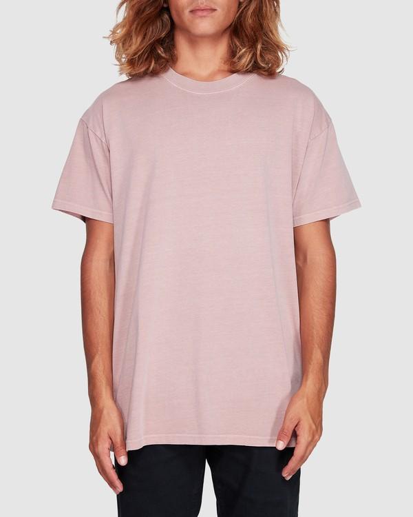 0 Premium Wave Wash Short Sleeve Tee Pink 9572051 Billabong
