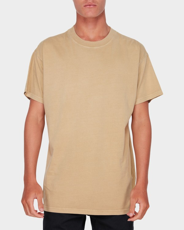 0 PREMIUM WAVE WASH TEE Beige 9572051 Billabong