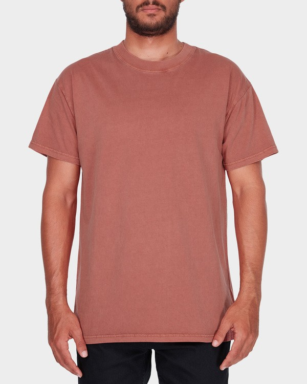 0 PREMIUM WAVE WASH TEE Brown 9572051 Billabong