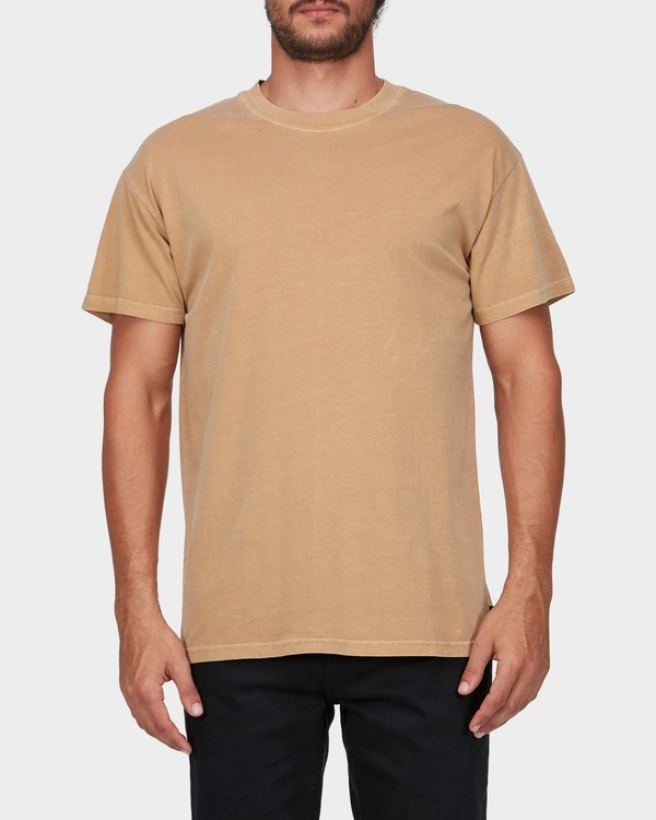 0 PREMIUM WAVE WASH TEE Yellow 9572051 Billabong