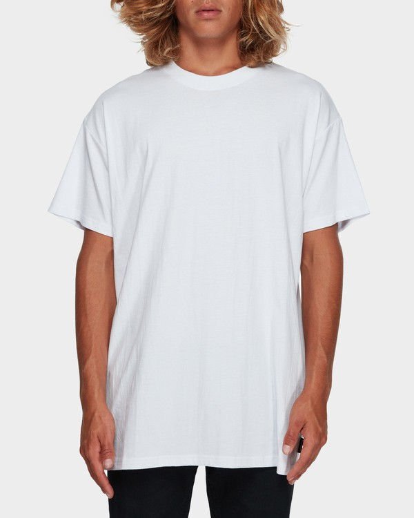 0 Premium Wave Wash Tee White 9572051 Billabong