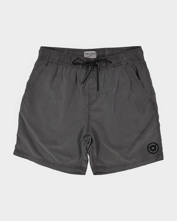 0 ALL DAY OVERDYE LAYBACK BOARDSHORTS Black 9572439 Billabong