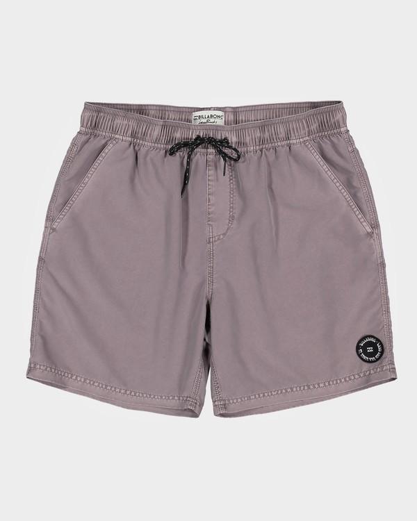 0 All Day Overdye Layback Boardshorts Purple 9572439 Billabong