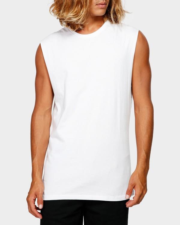 0 PREMIUM MUSCLE White 9572509 Billabong