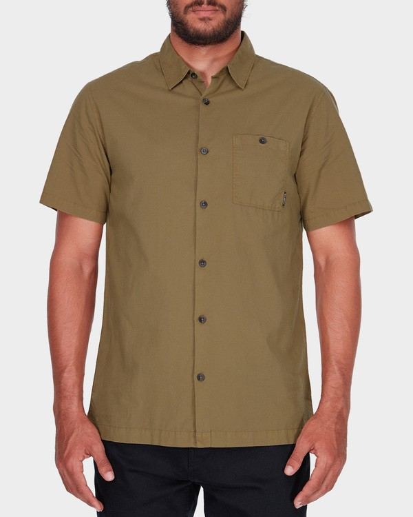 0 WAVE WASHED SHORT SLEEVE SHIRT Brown 9581209 Billabong