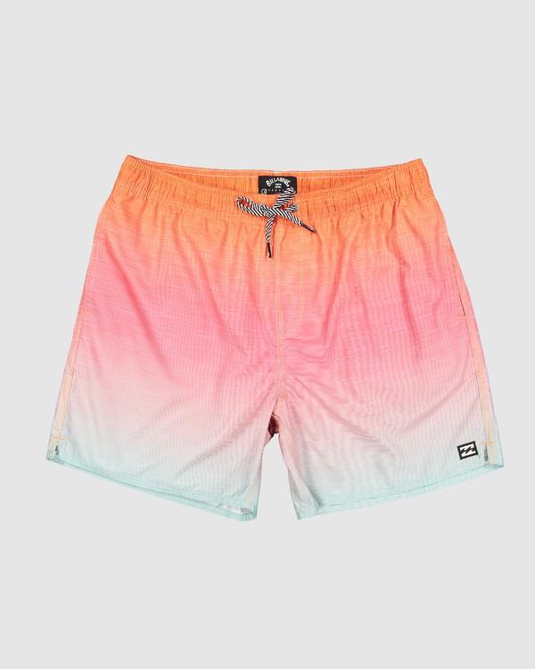 0 Sergio Layback Boardshorts Orange 9581417 Billabong