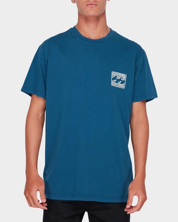0 CAPISTRANO TEE Blue 9582021 Billabong