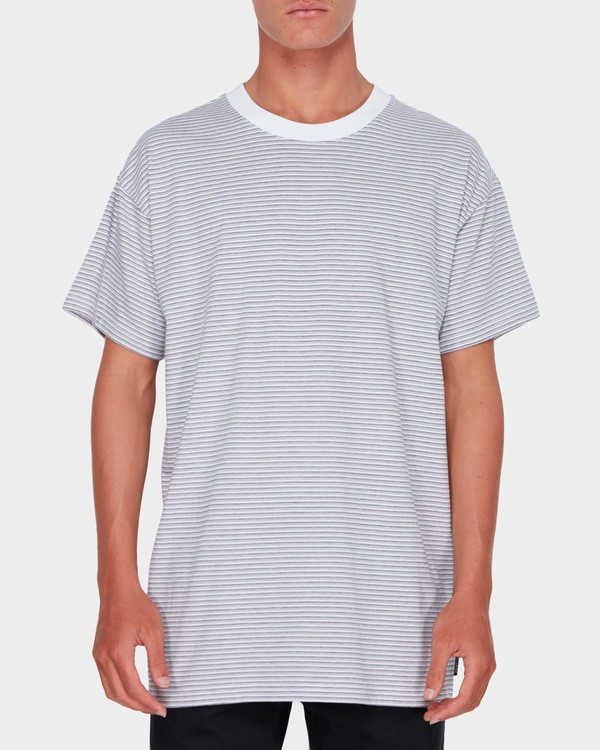 0 QUAD STRIPE TEE White 9582041 Billabong