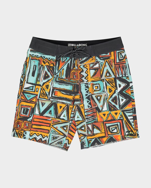 "0 SUNDAYS X 18"" BOARDSHORT Red 9582404 Billabong"