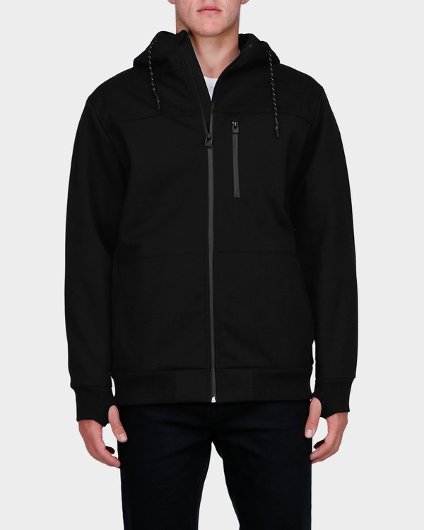 0 ADIV PROVINCE ZIP THRU HOOD Black 9585628 Billabong