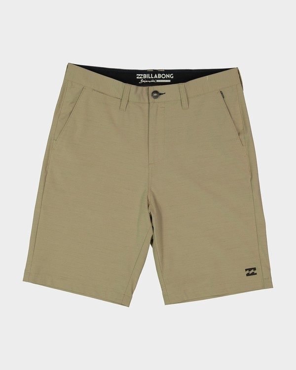 0 Crossfire X Slub Shorts Green 9585709 Billabong