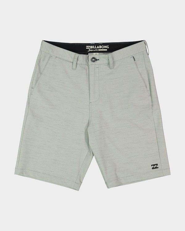 0 Crossfire X Slub Shorts Grey 9585709 Billabong