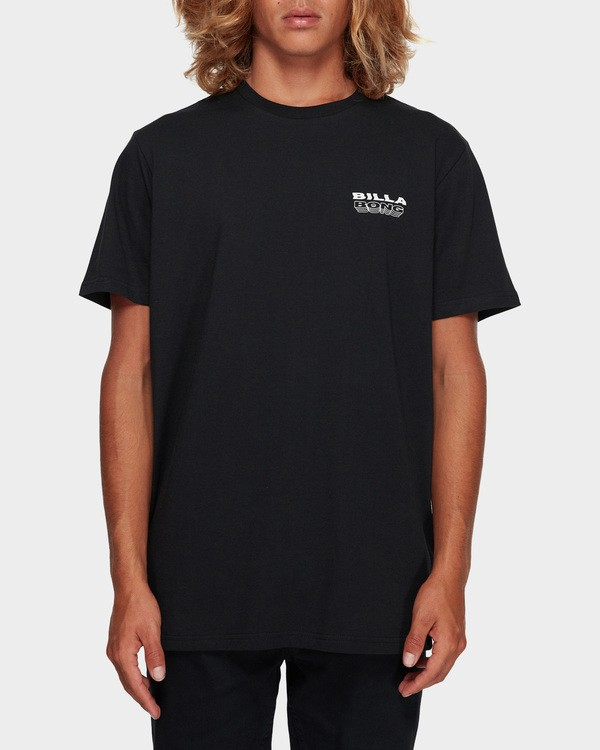 0 UNDER CUT TEE Black 9591005 Billabong