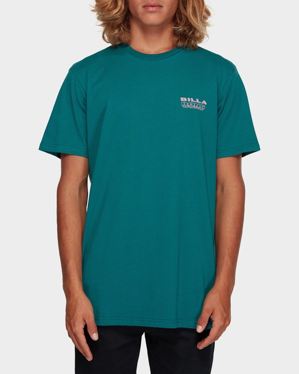 0 Under Cut Tee Green 9591005 Billabong