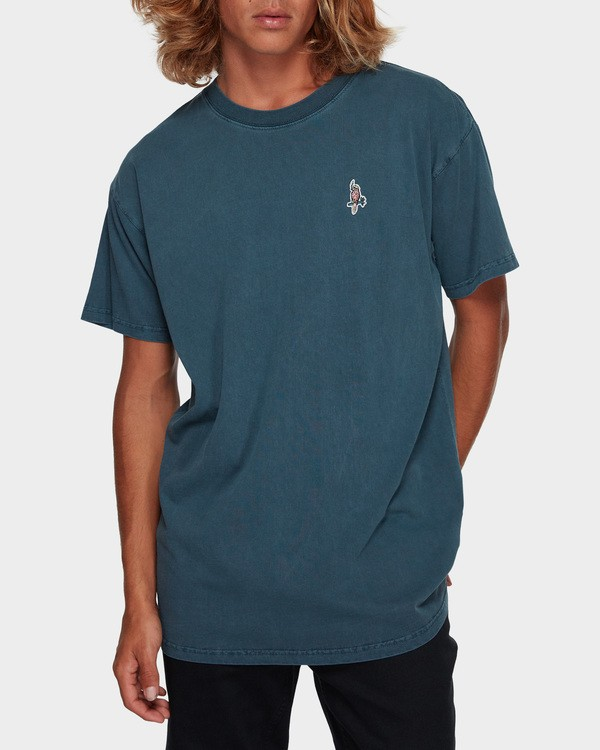 0 FLAMIN GALLAH TEE Blue 9591011 Billabong
