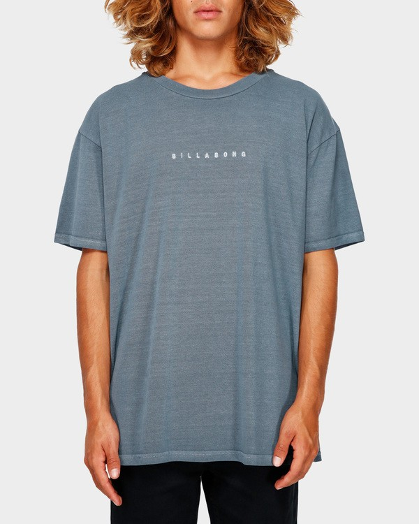 0 ROUGH CUT TEE Blue 9591017 Billabong