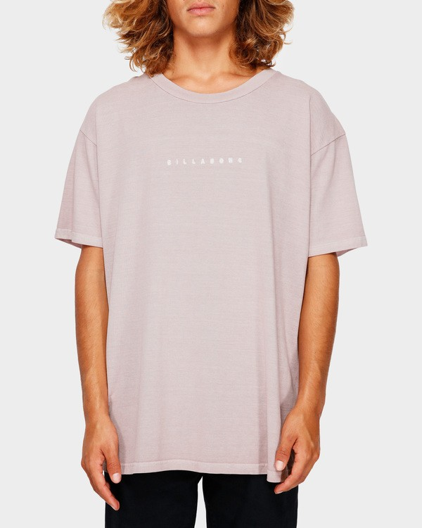0 Rough Cut Tee Pink 9591017 Billabong