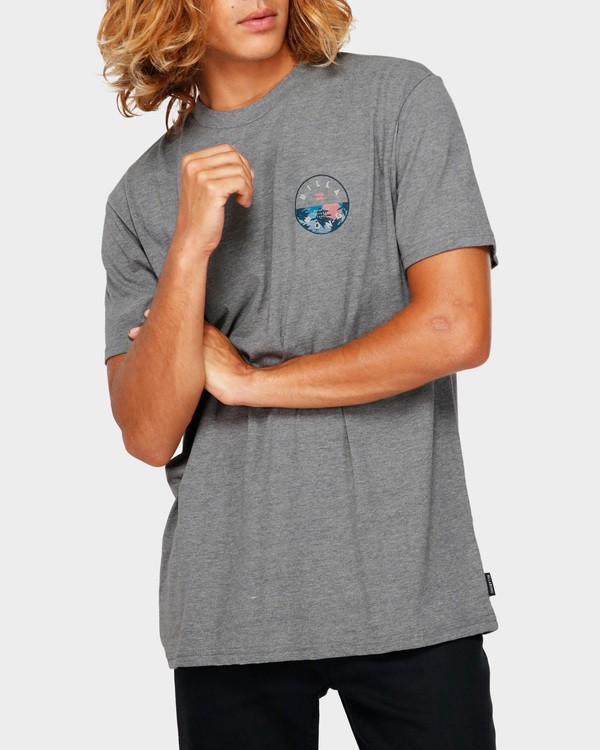 0 ROTOR TEE Grey 9591031 Billabong