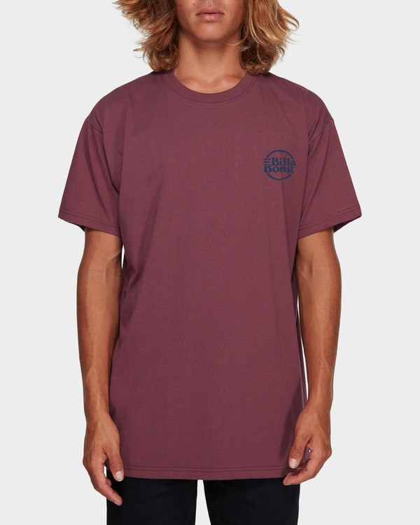 0 CRUISE 86 TEE Red 9591052 Billabong