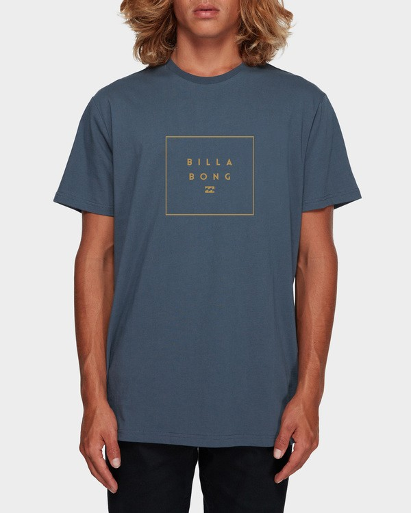0 STACK IT TEE Grey 9591054 Billabong