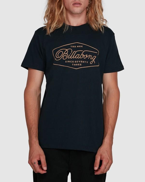 0 Trademark Tee Blue 9591100X Billabong