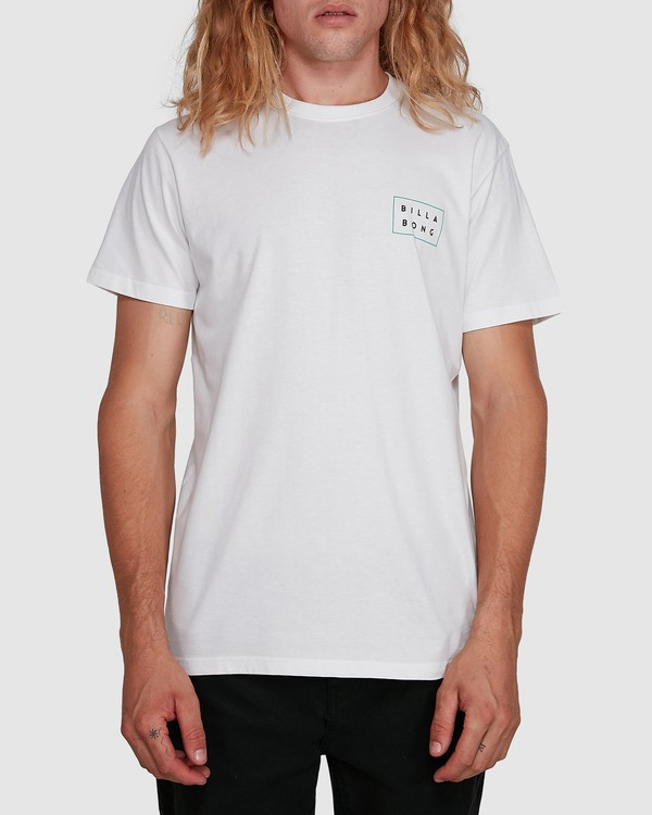 0 Die Cut Tee White 9591104X Billabong