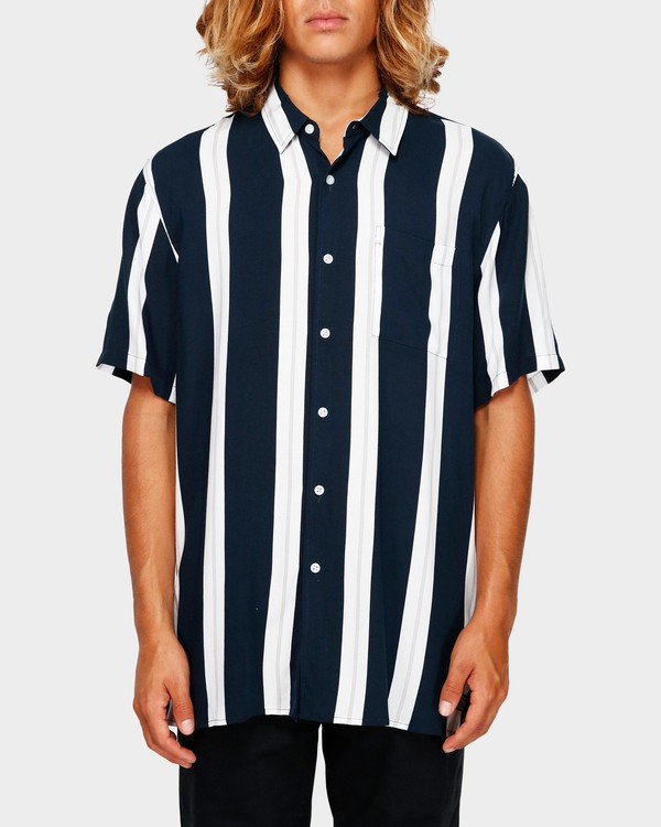 0 SUNDAYS STRIPE SHIRT Blue 9591216 Billabong