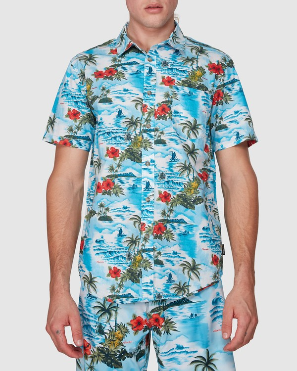 0 SUNDAYS HAWAII SHIRT Blue 9591221M Billabong