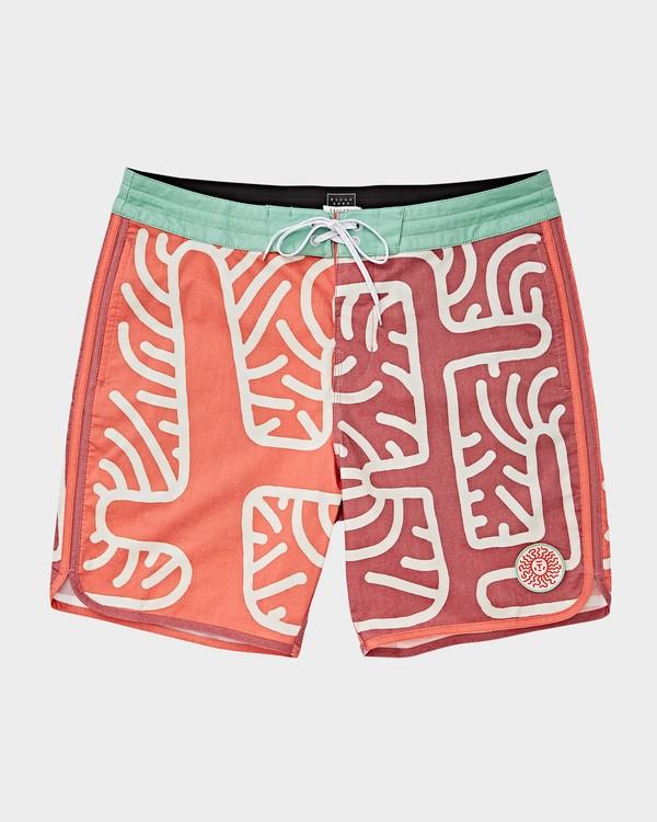 0 Cactus 73 Lo Tide Boardshorts Orange 9591430 Billabong