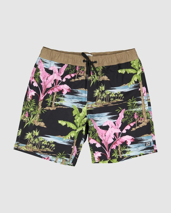 0 Sundays Layback Boardshort Blue 9591435X Billabong