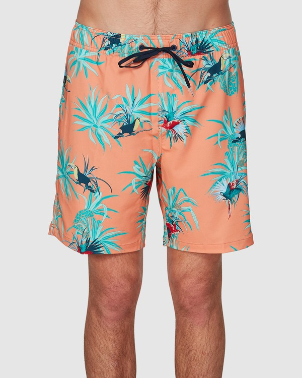 0 Sundays Layback Boardshort Orange 9591435X Billabong