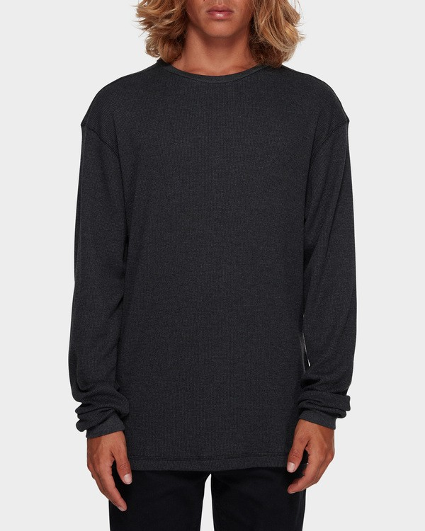 0 Essential Thermal Tee Black 9591601 Billabong