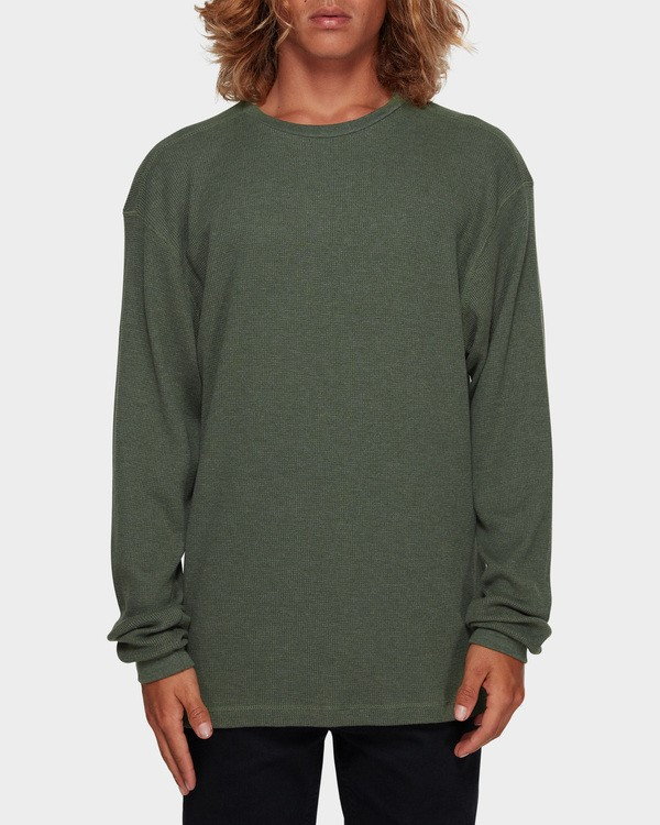 0 Essential Thermal Tee Green 9591601 Billabong